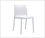 Wypożyczalnia krzeseł wrocław poznań warszawa kraków, Białe bardzo wytrzymałe krzesło maya