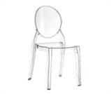 Krzesło Transparent Elie - meble eventowe wrocław