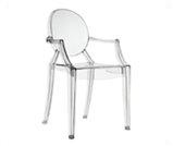 Krzesło Ghost transparent