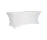 Pokrowce na stół białe - Wypożyczalnia mebli eventowych podświetlane