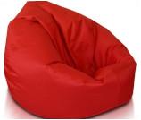 Fotel worek sako czerwony - Wynajem mebli Wrocław