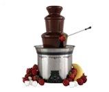 Fontanna czekoladowa - wypożyczalnia mebli eventowych