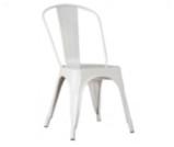 Krzesło loft białe - Wypożyczalnia mebli Loftowych