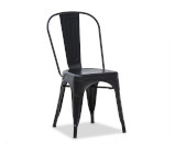 Krzesło loft czarne - Wypożyczalnia mebli Loftowych