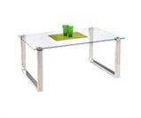 Szklany stolik prisma - wypożyczalnia mebli biurowych Łódź