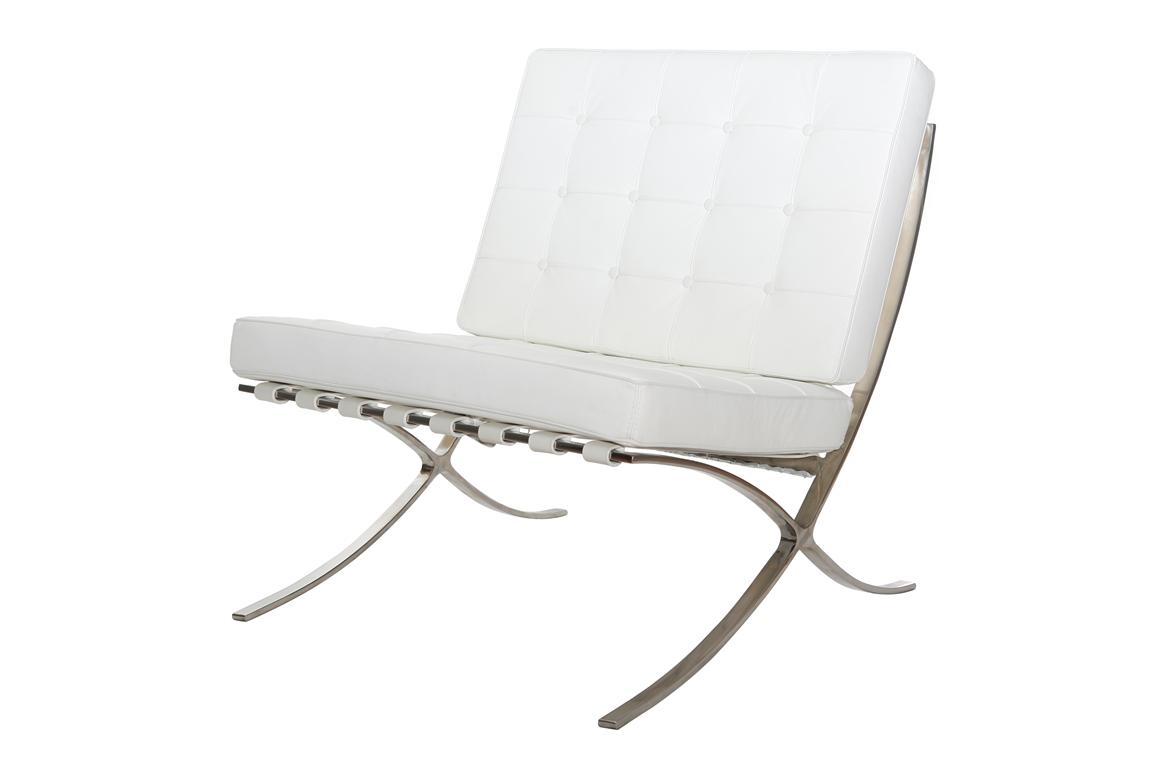 Wynajem mebli - Fotel Barcelona biały