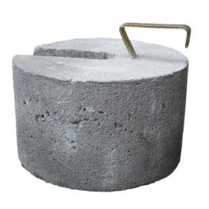 Wypożyczalnia namiotów eventowych i biesiadnych obciążenie betonowe
